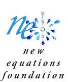 New Equations Foundation Sparkle logo