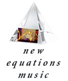 New Equations Music Crystal Pyramid logo