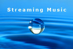 New Equations Streaming Music water droplet