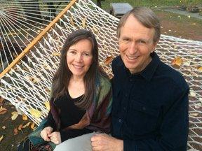 Siska Tovey and Alan Sheets photo in hammock
