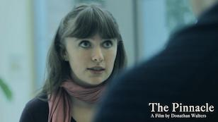 Jenna acting in the film The Pinnacle