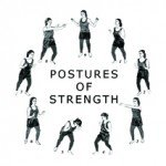 Logo for the Postures of Strength showing all nine Postures